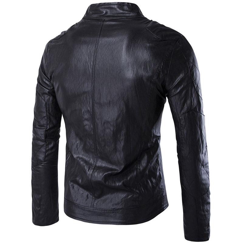 54a98924a Biker Leather Jackets Men