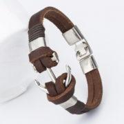 bangle-handmade-leather-anchor-2