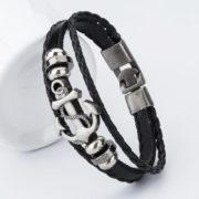bangle-handmade-leather-anchor-3