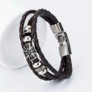 bangle-handmade-leather-anchor-7