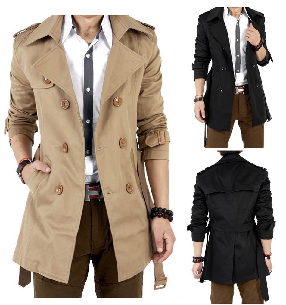British Style Coat Men Classic