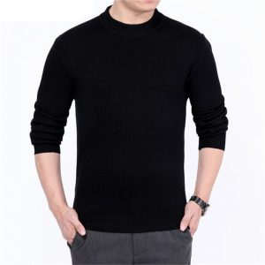 Cashmere Knitted Men'S Sweater O-Neck-1