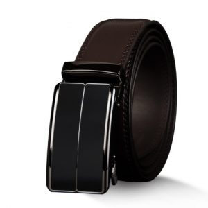 Men'S Belt With Automatic Buckle