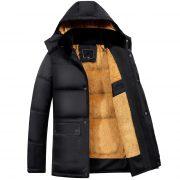 Men'S Winter Parka Jacket-1