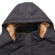 Men'S Winter Parka Jacket-12