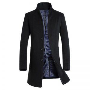 Men'S Winter Wool Coat-1