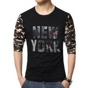 Men's Casual Cotton T-shirt NEW YORK-1