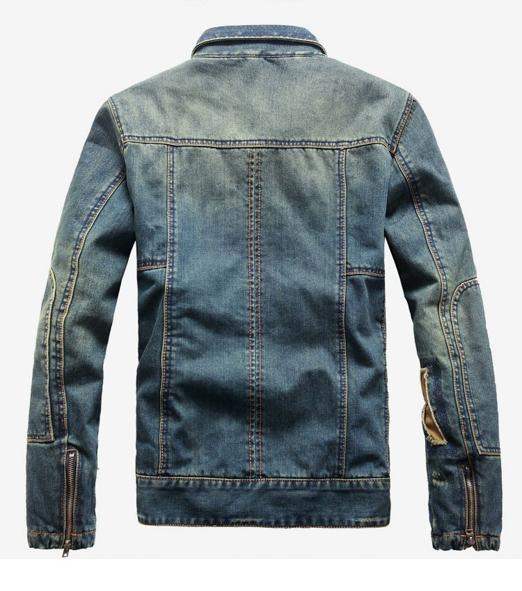 how to choose denim jacket size