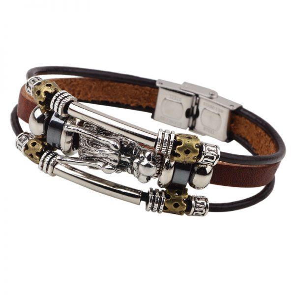 vintage-mens-bracelet-with-dragon-1