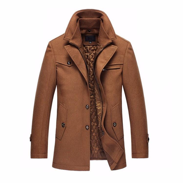 winter men trench coat