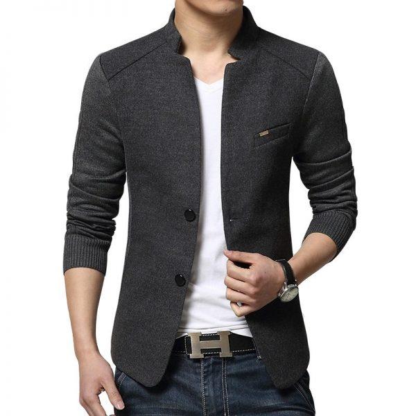 Men's Woolen Blazer-1