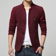 Men's Woolen Blazer-2