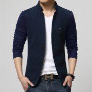 Men's Woolen Blazer-3
