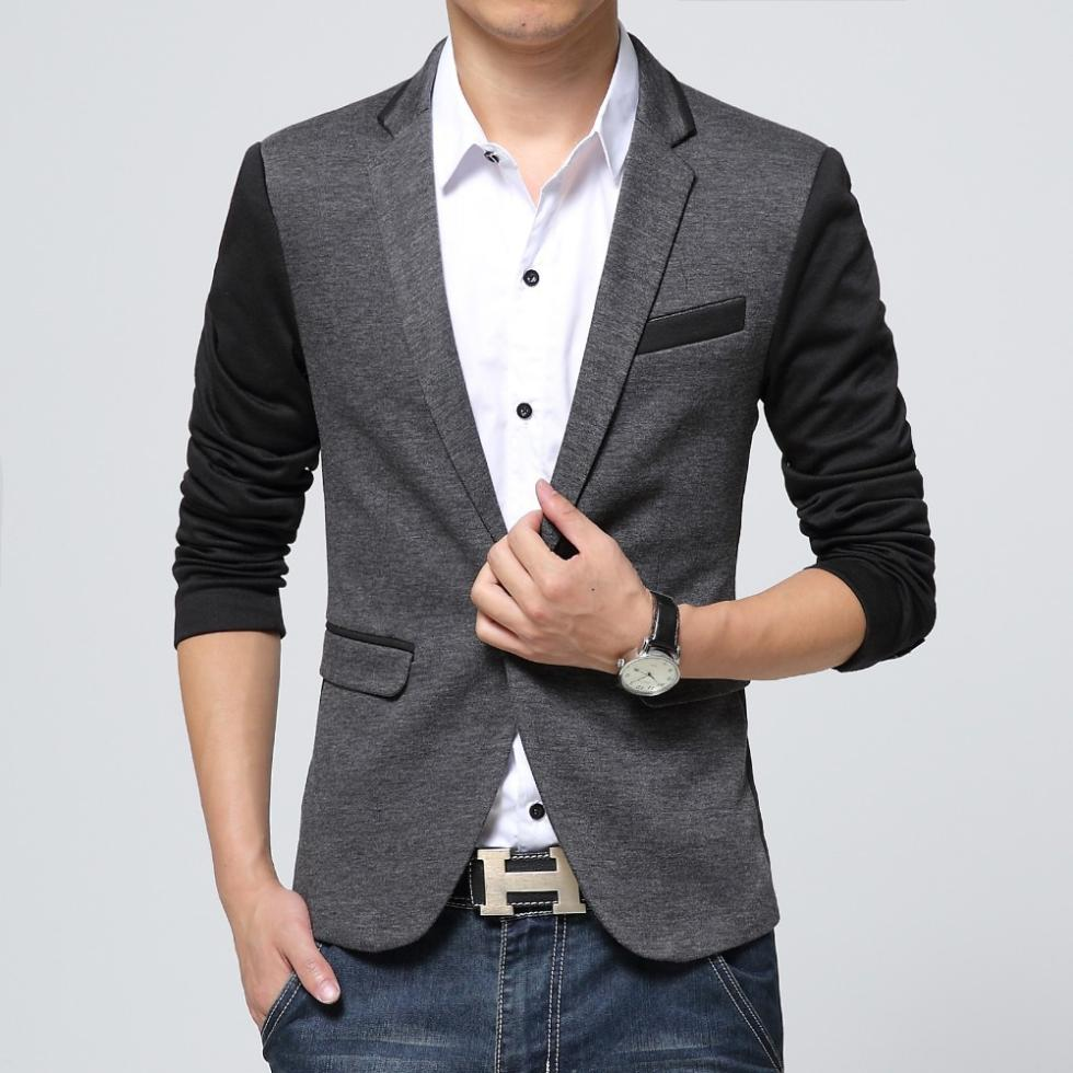 Men's Elie Milano Italy Slim Fit Solid/Patterned Men's Blazer/Jacket B9 XL Slim Regular Grey with black check EBBS Elie Balleh Brand Is All About Quality And Style In Fact This Is The Best-Seller, This Men'S Slim Fit Blazer Is Engineered With Natural Stretch For Added Ease And Comfort. Updated Look With Distinctive Designs.