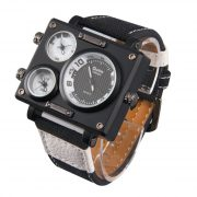 Watch With 3 Time Zone3