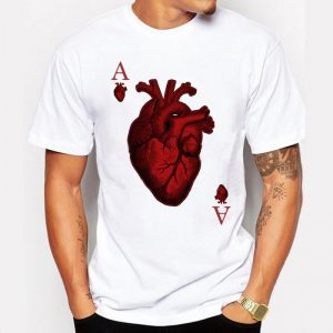 Ace of Hearts Summer T-Shirt-1