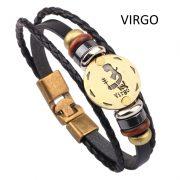 Fashion Bracelets Zodiac Signs-12