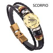 Fashion Bracelets Zodiac Signs-4