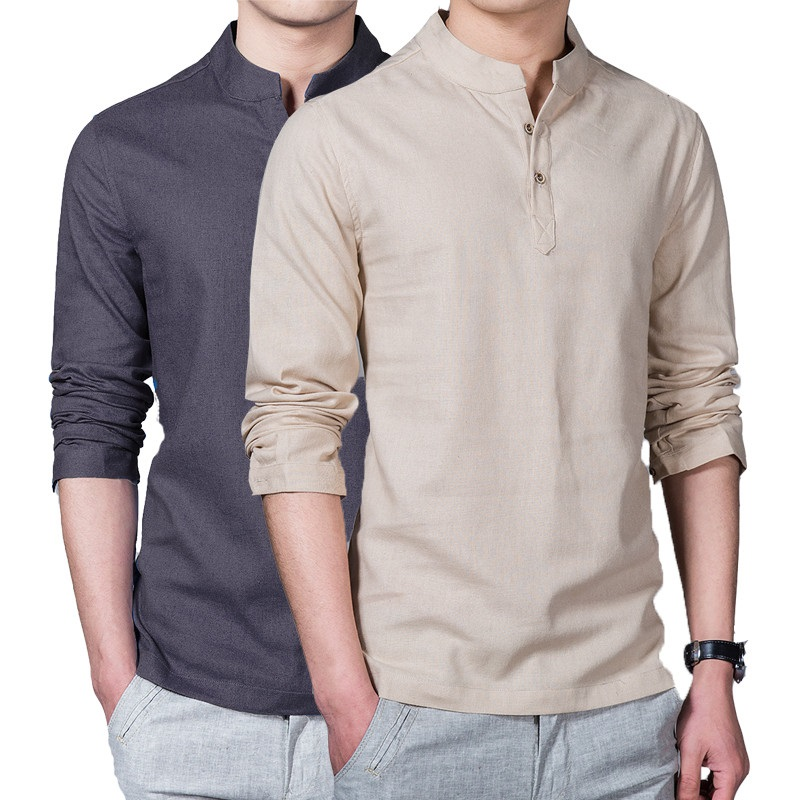 Men's Casual-Shirts Shopping for stylish casual shirts to add to a weekend wardrobe? Browse the men's button-front tops in a variety of colors to top off a handsome, laid-back look.