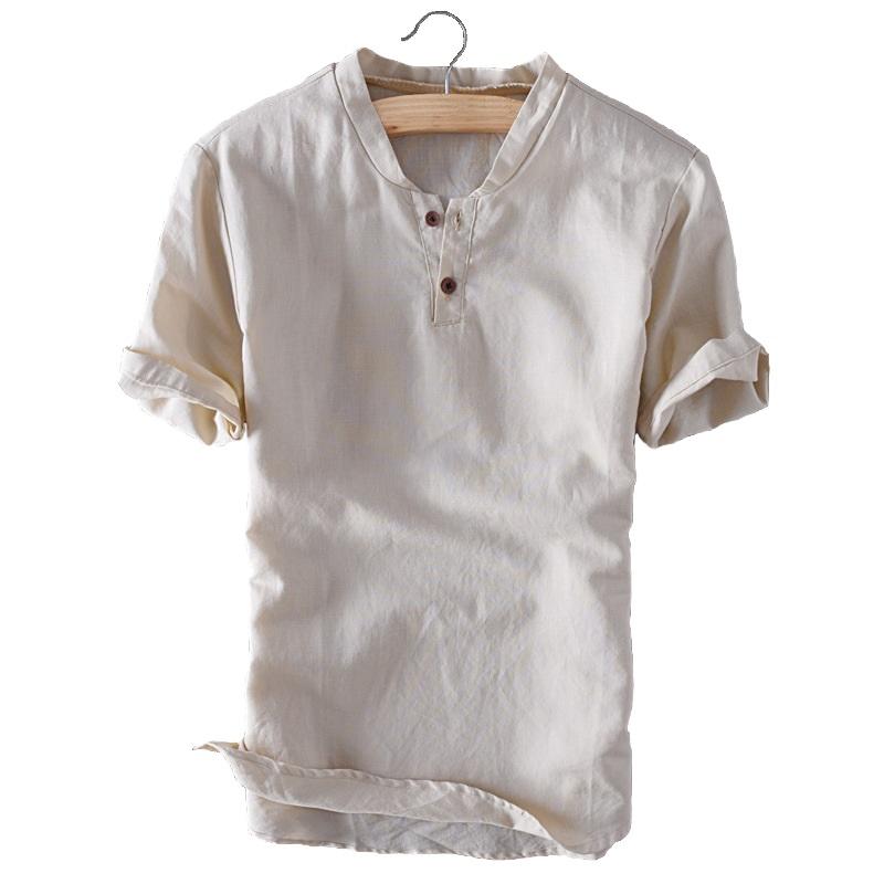 summer linen mens shirt ForMens Summer Linen Shirts