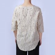 Luxury Men'S linen T-Shirt With Loose Sleeves-2
