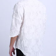 Luxury Men'S linen T-Shirt With Loose Sleeves4-2