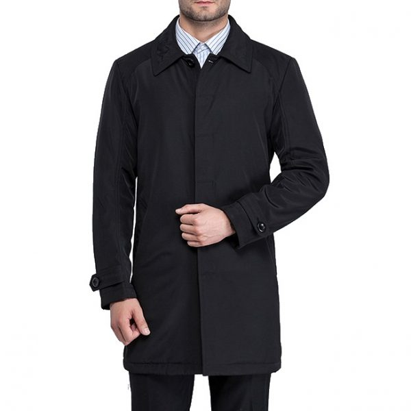 Autumn Spring Man'S Trench Coat-1-1