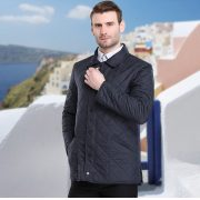 Bussiness Causual Mens Quilted Jacket-20