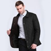 Bussiness Causual Mens Quilted Jacket-9