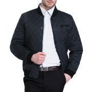 Men Fashion Quilted Bomber Jacket3-2