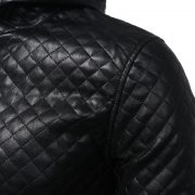 Jacket Zipper Hood Leather-11