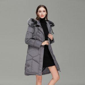 Long Winter Parka Women-1