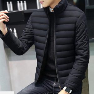 Men's Winter Jacket Parkas Padded