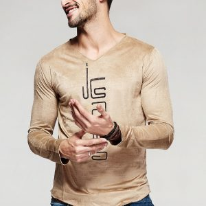 Fashionable Men'S T-Shirt T-100-2