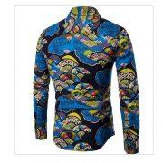 Men'S Hawaiian Shirt TJ100-1-0-1