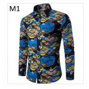 Men'S Hawaiian Shirt TJ100-1-0