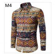 Men'S Hawaiian Shirt TJ100-11