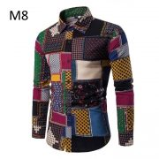 Men'S Hawaiian Shirt TJ100-14