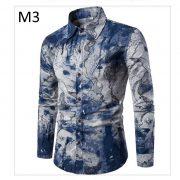 Men'S Hawaiian Shirt TJ100-9