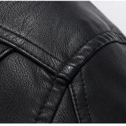 Casual Leather Fleece Jacket -31