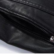Casual Leather Fleece Jacket -32