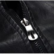 Casual Leather Fleece Jacket -33
