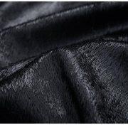 Casual Leather Fleece Jacket -34
