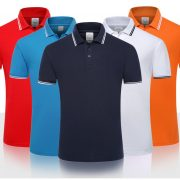 Men'S Polo Shirt Sleeve Slim-100