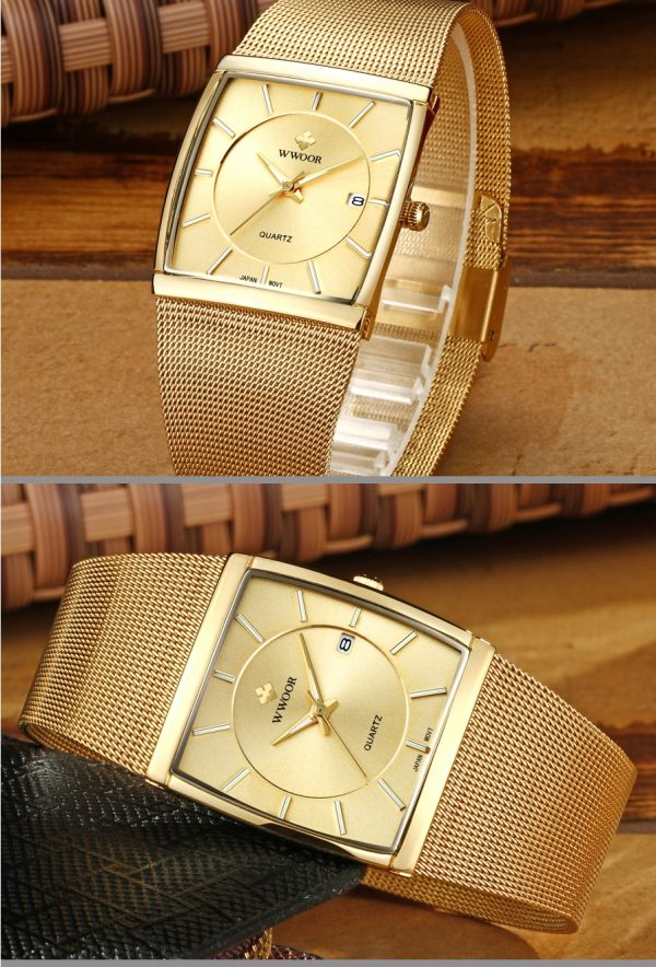 Square Men Watches