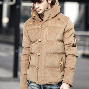 Contemporary Men's Winter Parka